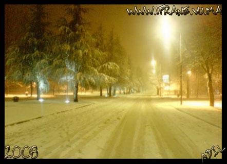 la neige du 2008