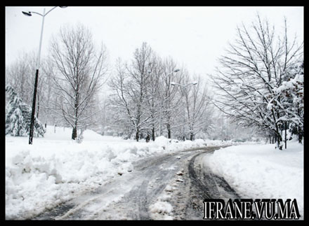 route neige ifrane 2008