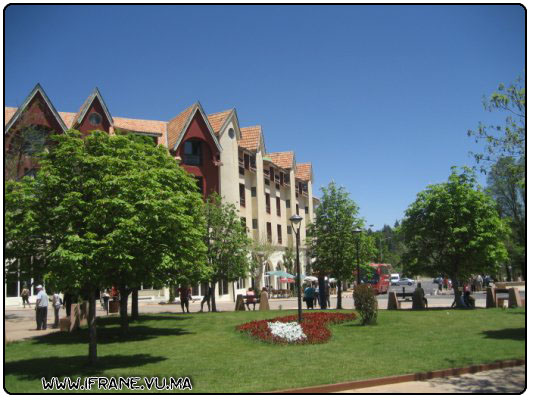 centre ville ifrane