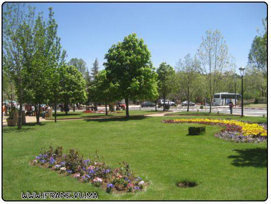 jardin au centre ville d ifrane