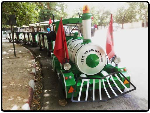 petit train touristique d'ifrane